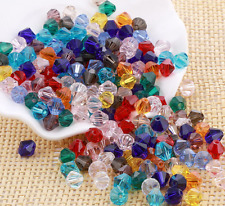 wholesale 3/4/6/8mm Crystal Diamond beads Loose Glass Crystal Bicone beads