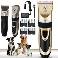 Pet Shave Clipper Hair Low Noise Cordless Electric Cat Dog Grooming Trimming Kit