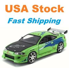 "Fast And Furious Brian's 1995 Mitsubishi Eclipse,JADA,Diecast Toy Car,5.5"", 1:32"