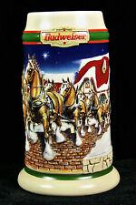 Budweiser Holiday Stein CS 343 1998 Grant Farm Holiday
