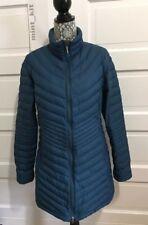 MOUNTAIN HARDWEAR Nitrous Down Parka Jacket Long Coat Women's Sz XL Blue