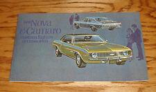 1969 Chevrolet Nova & Camaro Custom Feature Accessories 69 Chevy
