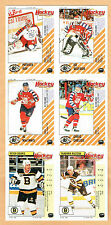 1992 -93 Panini Unissued 6-Panel, Patrick Roy A/S, Belfour, etc