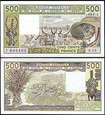 Unc Togo 5000 Francs 2016 Pick 817tm w.a.s.