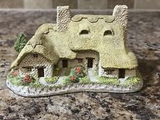 David Winter Meadow Bank Cottage Handmade and Hand painted 1985