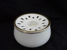 Sehr ausgefallener 2tlg. Rosenthal Porzellan Kerzenständer mit Vase (B251)