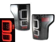 Pair Eagle Eyes V3 Black Full LED Taillights for 2015-2017 Ford F-150 XL XLT