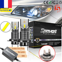 2X H7 Canbus LED anti erreur Ampoule Voiture Feux Phare Lampe 110W Xénon Blanc