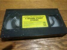 8 Sesame Street Stories VHS Tape A Golden Book Video Classic