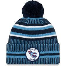 Tennessee Titans Knit Hat New Era 2019 Sport On Field Sideline Home Cap NFL