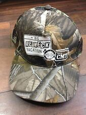 My Big Redneck Vacation England CMT -Trucker Style Hat Cap Snap-On Camoflauge