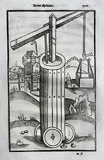 Vegetius végèce l 'art militaire GUERRA ARTE re militari legno chiave 1535 ARIETE