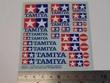 New Genuine Tamiya Logo Sticker Set (Decals/Stickers) 66614