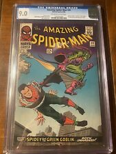 AMAZING SPIDER-MAN #39 8/66 CGC 9.0 OWW FIRST ROMITA ART ICONIC COVER NICE KEY!!