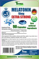 FUTURES Nutrition Melatonin 10mg 90 Vegane Kapseln, VERSAND WELTWEIT