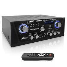 PYLE Digital Karaoke Amplifier - Bluetooth Amp with USB/SD/Optical