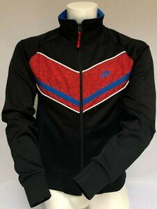 Mens Nike Full Zip Jacket Retro Vintage Classic Style Chevron Print Size S