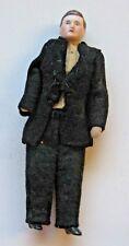"Antique German doll house bisque Man doll Original clothes 5"""