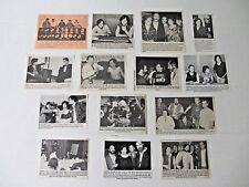 JOHN COUGAR MELLENCAMP original magazine clippings LOT of 14 rare 1970 - 1980