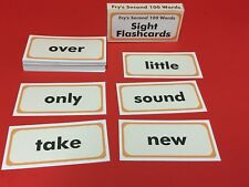 Fry's Second Hundred Words - Reading - Fry Sight Word Flash Cards - 100 cards