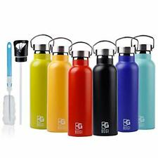 BOGI 600ml Double Wall Vacuum Insulated Stainless Steel Water Bottle-Scratch