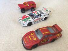 3 MODELLINI BBURAGO AUTOMOBILI RALLY SCALA 1:43 BMW M1 PORSCHE 935 TT 4 WD BLAZ
