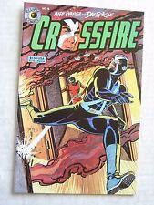 Eclipse Comics CROSSFIRE #9 - Mark Evanier & Dan Spiegle