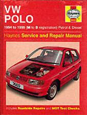 VW Polo Hatchback Petrol & Diesel (94 - 99) M to S Reg Haynes 3500 Genuine New