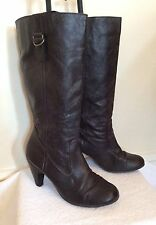 Dorothy Perkins Women's Synthetic Leather Knee High Boots