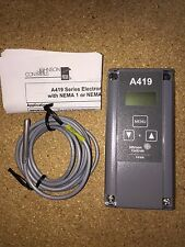 Johnson Controls 120/240V SPDT SINGLE STAGE DIGITAL TEMP CONTROL A419ABC-1C