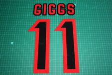 Manchester United 97/98 #11 GIGGS FA Charity Shield AwayKit Nameset Printing