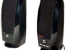 New Black Logitech S150 Computer Speakers W/ Digital Sound & Usb Connectivity