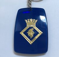 H.M.S Hermes Royal Navy Keyring Keychain Key Chain Ring