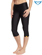 iQ UV 300 Yoga Capri Slim Fit Ladies Damen S - XXL black schwarz Leggings Hose N