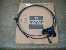 1975 76 77 78 Gran Fury Monaco Newport New Yorker NOS MoPar HOOD RELEASE CABLE