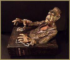 Shelley Universal Frankenstein Monster Sculpture Figurine Book Worms Curio Box