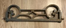 Cast Iron Fire Bars / Fire Fret for fireplace: 38 x 11.5cm Excluding 1.5cm Pins