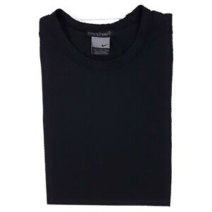 Nike Sphere Tee Shirt Medium Black Gray M Mens Size Short Sleeve Crewneck Slim