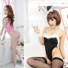 Sexy Women's Lady Bunny Rabbit Suit Lingerie Costume Fancy Dress Up Nightwear