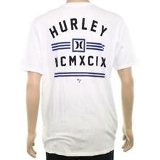 Hurley Calling Card T-Shirt White Mens Large New