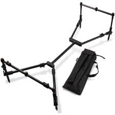 NGT NEW Nomadic Rod Pod Compact Carp Fishing Fully Adjustable 6 Legs +Free Case