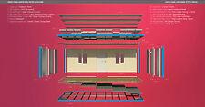 Bürocontainer Baucontainer Wohncontainer 7mx3m SOFORT VERFÜGBAR Schlüsselfertig