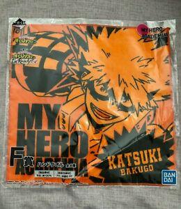 [US Seller] My Hero Academia Clear File Sticker Bottle Hand Towel Katsuki Bakugo