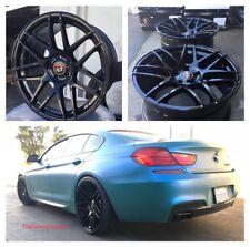 22'' inch Wheels Curva C300 Concave Rims Tires Black BMW 550 645 650 745 750 X5