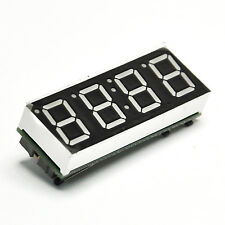 "0.56"" 4 bits LED Digital Display Electronic Clock Thermometer/Date DS1302Arduino"