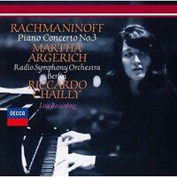 MARTHA ARGERICH-RACHMANINOV: PIANO CONCERTO NO.3 / ...-JAPAN SHM-CD D20