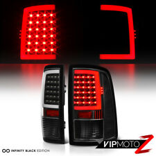 [OLED Neon Tube] 2009-2018 Dodge Ram 1500 2500 3500 Black LED Tail Lights 2016
