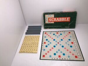 Scrabble board game 1955 J W Spear & Sons Ltd England Vintage Complete Set