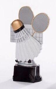 Badminton-Pokal (Resin-Figur) mit Wunschgravur (39156)