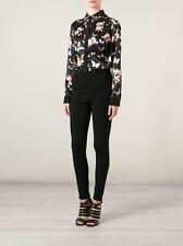 GIVENCHY 1190$ Authentic New Black Punto Milano Classic Leggings Pants sz 36 2